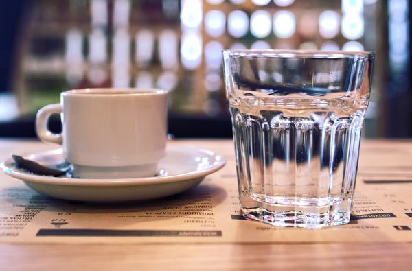 Why you should combine coffee with water